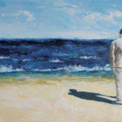 Peinture - Face à l'océan
