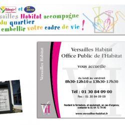 Versailles Habitat affiches