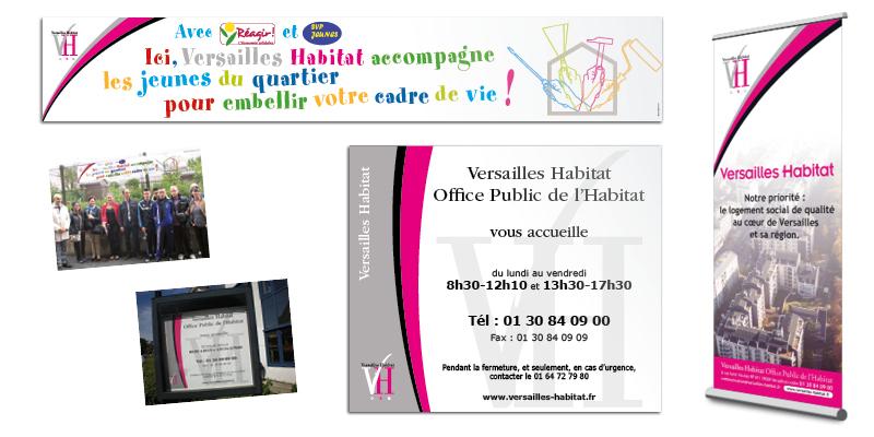 Versailles Habitat affiches(agrandir l'image)