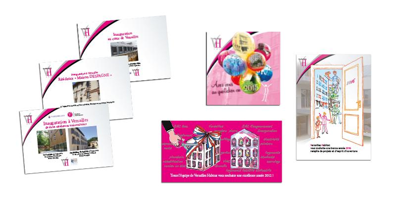 Versailles Habitat vœux invitations(agrandir l'image)