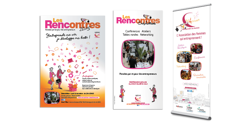 Edition CréActives affiches(agrandir l'image)