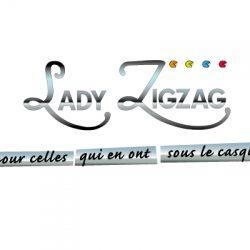 Identité visuelle Lady ZigZag