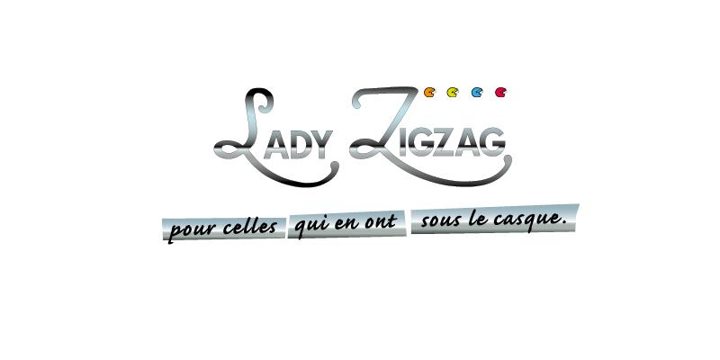 Identité visuelle Lady ZigZag(agrandir l'image)
