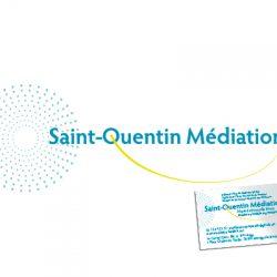Identité visuelle Saint Quentin Médiation