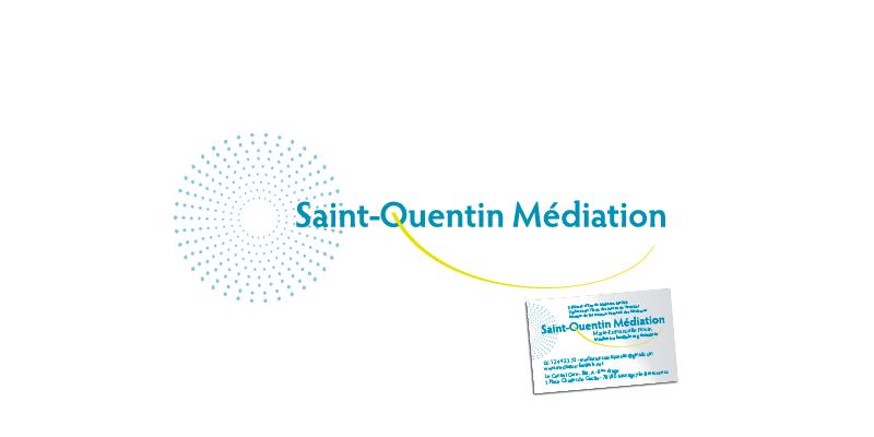 Identité visuelle Saint Quentin Médiation(agrandir l'image)