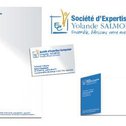 Identité visuelle Yolande Salmon