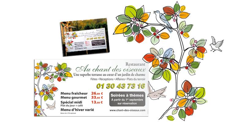Illustrations Chant des Oiseaux(agrandir l'image)