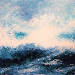 Peinture - La vague