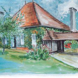 Peinture - Maison de campagne