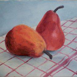 Peinture à l'huile - Les poires